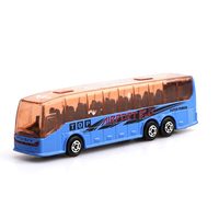 Free Wheel Diecast Model Car Toy Metal Bus