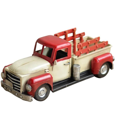 Decorative Metal Model Truck Vintage Metal Truck Model