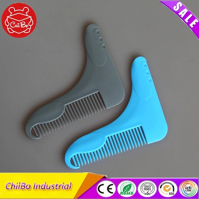 Customized Design Plastic Beard Comb And Shaper