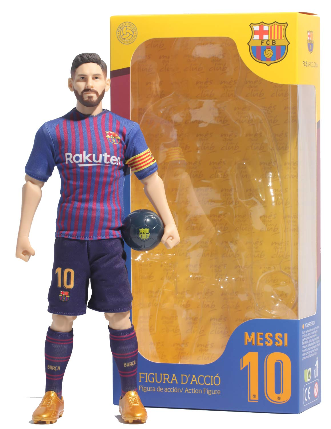 Sockers Messi FCB Action Figure