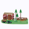 DIY Miniature House Play Plastic Animals Farm Set Toys for Kids