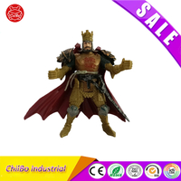 Wholesale Custom Plastic Japanese Samurai Anime Action Figure Toy for Table Decor