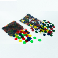 Hot Sale 2.2cm Plastic Colored Counting Chips Counting Math Toys Educational Kids Toys for 3 Year Olds