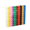 New 100PCS Set 2cm Linking Cubes DIY Toys Colorful Building Blocks Gifts for Children Learning and Educational Toys