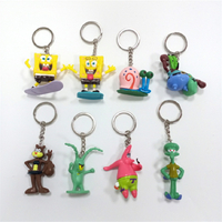 OEM PVC Cute Figure Keychain Anime Action Figure