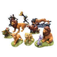 Wholesale Hot The Lion King Simba PVC Action Figure, Cartoon Movie Characters Action Figure