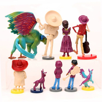 Custom Made OEM/ODM 3D Children Kid Gift Collection Miniature Anime Action Figure PVC Material