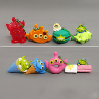 Custom Keychains Plastic Animal Cartoon PVC Keychains