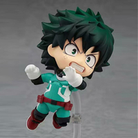 Q Version Japanese Style PVC My Hero Academia Anime Figurine Action Figure Model for Decoration