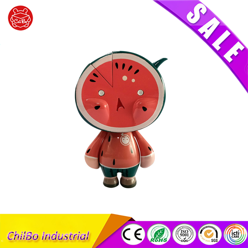 Cheap Mini 3D Painting Figure Cartoon Kawaii Toys Children Kid Gift Collection