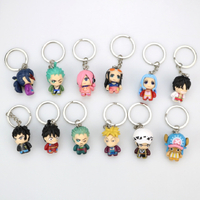 Cheap Custom Keychains 3D Shape Plastic PVC Key Chain