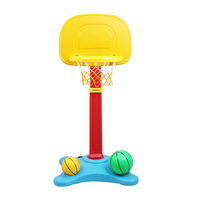 Popular PVC Promotional Gift Basketball Set Portable Basketball Stand Toy, Educational Toys