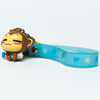 Custom Make PVC Plastic 3D Animal Monkey Keychain