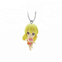 Customized Lovely 3D Action Figure Plastic Keychain