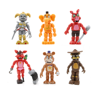 OEM Custom Logo Top Selling One Piece Portable Miniature Cartoon Character Anime Action Figure for Kids