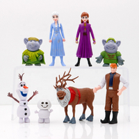 OEM/ODM 3D Plastic/PVC Famous Movie Characters Princess/Animals/Warriors Miniature Anime Action Toy Figure Wholesale